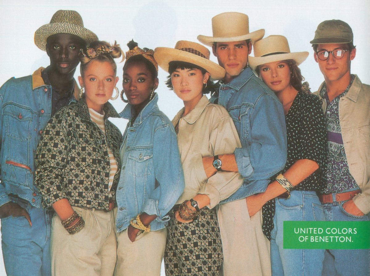 benetton 1990 fall winter database blog about